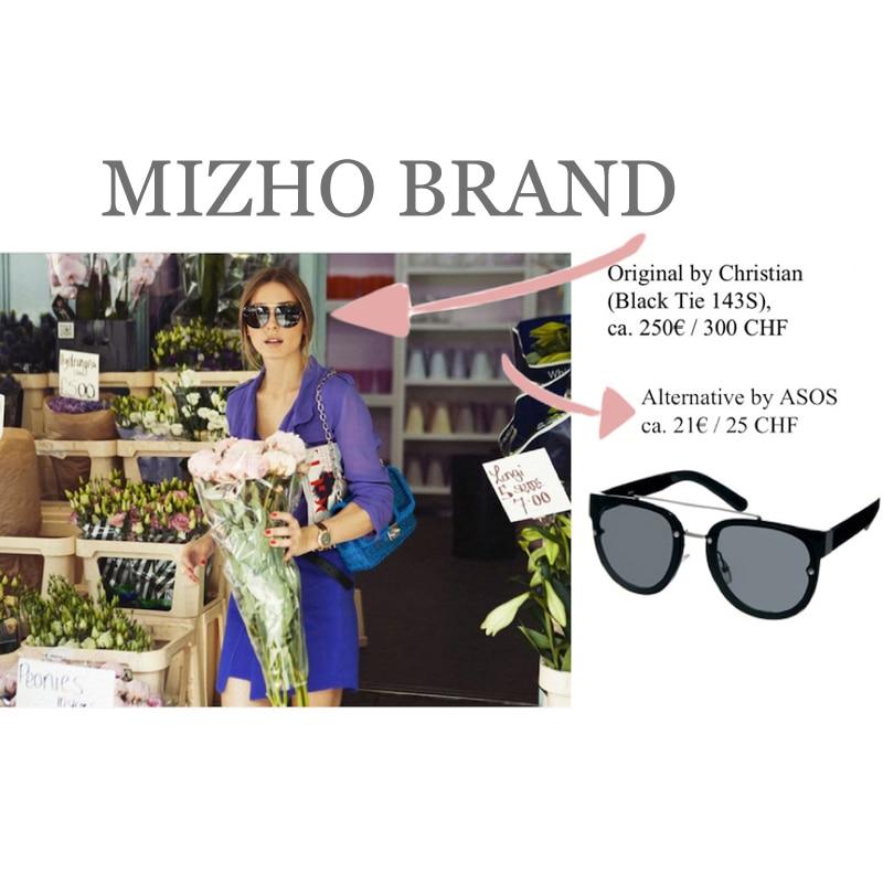 MIZHO Minus Reflektion Effekter Svart Lins Unisex Solglasögon - Kläder tillbehör - Foto 3