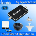 2016 Lintratek New 4G LTE Cell Phones Signal Booster 2600MHz Antenna 65dBi Mini 4G LTE 2600 Mobile Signal Repeater Full Kit F20