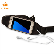 Пвх непромокаемые мешки телефон case для iphone 7 6 6s плюс 5S пояс чехол крышка для samsung huawei открытый спортивный пакет работает ок