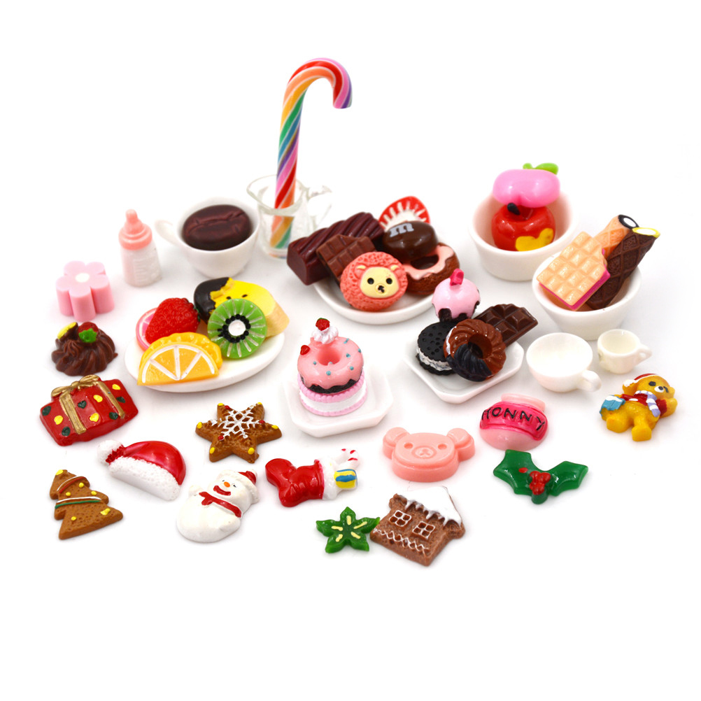 Official Website 10pcs/lot Funny Mini Kawaii Resin Colorful Flatback Cabochons Diy Craft Kit Supplies Decoration Child Pretend Play Toy Latest Technology Back To Search Resultstoys & Hobbies