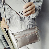 Women Mini Vintage Pu Leather Lady Purse Clutch Fashion Short Small Purse Brand Soft Solid Square Bag