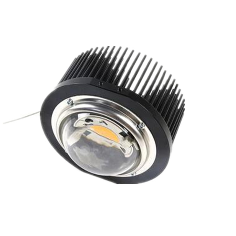 CREE Cob CXB3590 Ideal Holder 50 2303CR Pre drilled passive heatsink D133mmxH70mm for 50 65W D100mm
