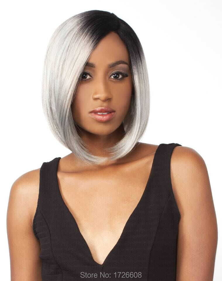 Silver Gray Wigs African American Hairstylegalleries Com