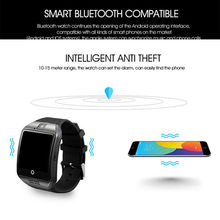 Bluetooth Support TF card With Camera Smart Fashion Watches for Android