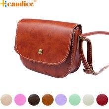 Best Gift Hcandice New Fashion Retro Women Messenger Bags Chain Shoulder Bag Leather Crossbody New drop ship bea6613