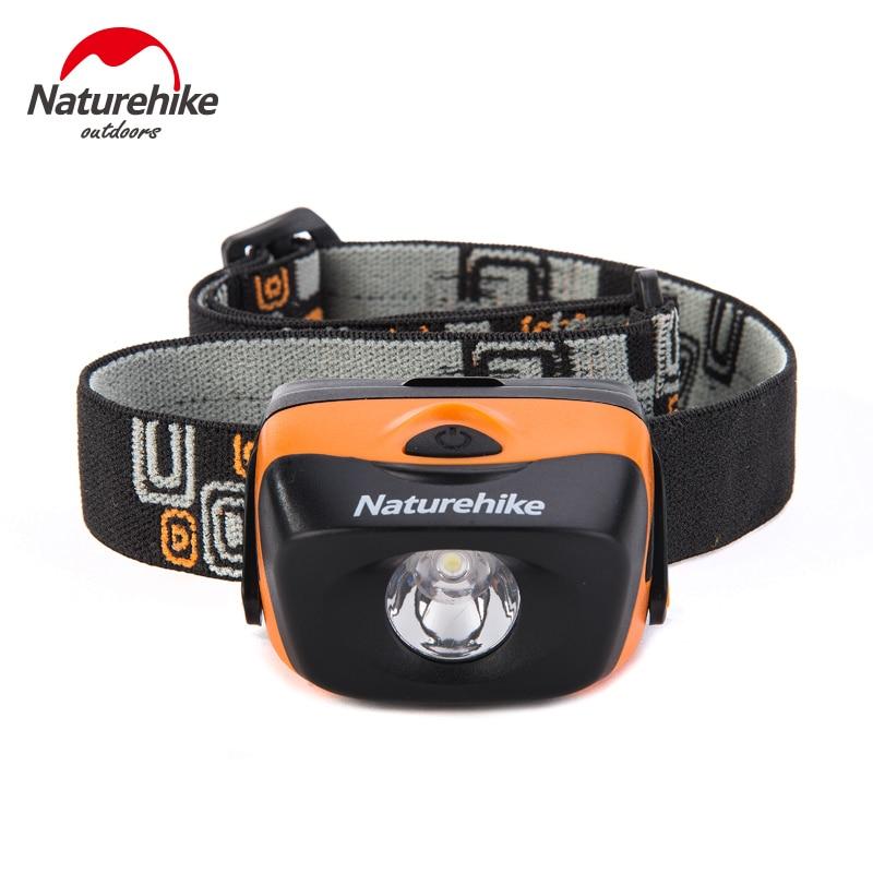 Naturehike Ultralight Outdoor LED Headlamp Camping Headlamp Waterproof Tent Light 3*AAA Battery Waterproof Camping Light Lamp