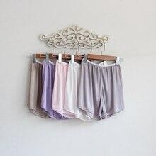 Свободные короткие женские брюки с подкладкой, женские тонкие атласные брюки, прозрачные шорты