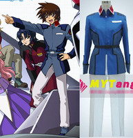 Anime MOBILE SUIT GUNDAM Seed destiny United earth federation military uniforms Halloween Costume free shipping
