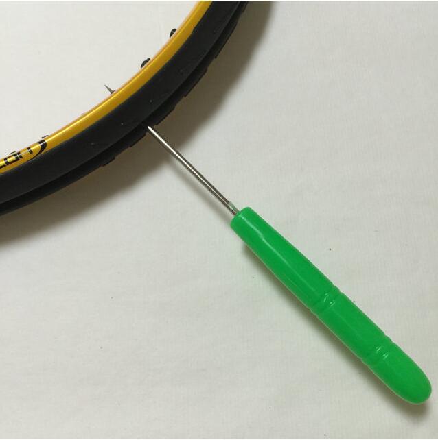 (5pcs / lot) Badminton, teniški lopar šivalni stroj, natezanje delov, ravna šila, noži za orodje