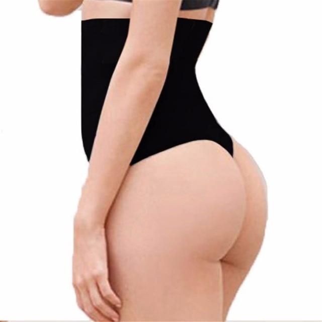 52ad810bc00 steel boned post partum Women high waist thong shaper waist trainer cincher tummy  Control panty pant Butt Lifter booty E97