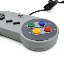 Data Frog 2017 Retro Wired USB Controller Gaming Joypad Joystick  For SNES Style For PC Window 7/8/10 Gamepad For Mac