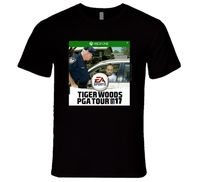 Tiger Woods PGA Tour 2017 Videogame Funny Most Wanted T Shirt