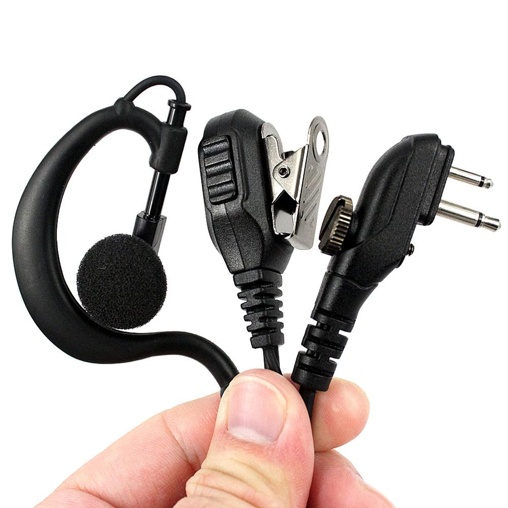 PTT Earpiece Headset Mic For HYT Hytera TC-500 TC-518 TC-580 TC-446S TC-600 TC-610 TC-620 TC-618 TC-700 Walkie Talkie Earphone