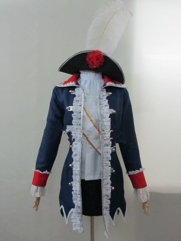 Anime  APH Axis Powers Hetalia Prussia Cosplay Costume/Dress