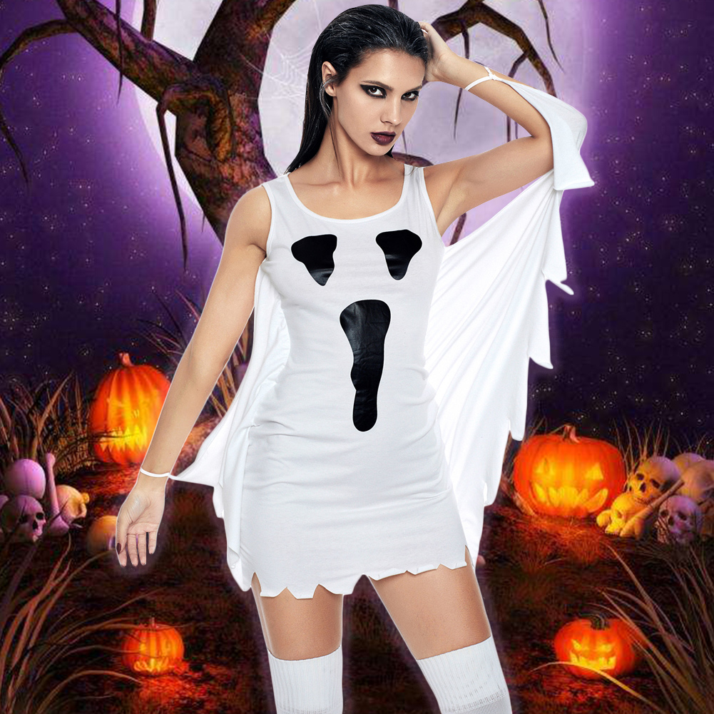 2019 Autumn Sexy Party Dresses Women Halloween Cosplay ...