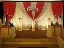 3x6MTR New Stage Background wedding props background custom Design color Sparkly Silver Sequin Glamorous Backdrop for Wedding