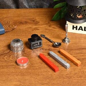 Image 5 - Cor de ouro pena caneta fonte do vintage caixa de presente conjunto estudante escrita material de escritório dip água caligrafia caneta fonte 5