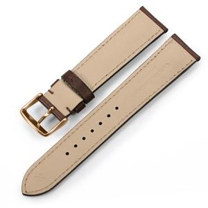 Image 5 - IStrap 18mm 19mm 20mm 21mm 22mm Armband Aus Echtem leder Uhr band armband Mit Rose gold Pin schnalle für Tissot Omega IWC