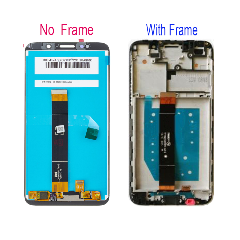 A 5 45 quot For Huawei Y5 Prime 2018 DRA L02 DRA L22 DRA LX2 LCD Display Touch Screen Digitizer Assembly Parts Tools in Mobile Phone LCD Screens from Cellphones amp Telecommunications