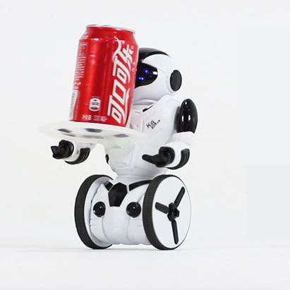 Gratis leverans NYHET Hot försäljning JXD KiB RC Robot Intelligent Balans Kryssrör Dans Gesture Slag Electric Remote Control FSWOB