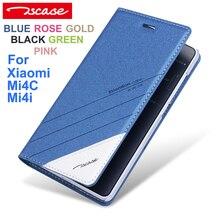 Tscase Мода Высокое Качество Оригинала Xiaomi Mi 4C Кожаный Чехол откидная Крышка Для Xiaomi Mi4C Чехол Телефон Обложка Mi4i Ми 4i