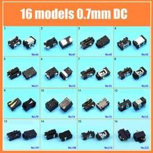 Dc2.5 * 0.7タブレットpc dcジャック電源ソケット2.5 × 0.7ミリメートル16モデル充電電源コネクタ