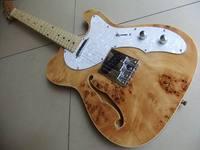Großhandel Tel Cnbald E-gitarre Birdeye Maple Top In Natürliche 110718