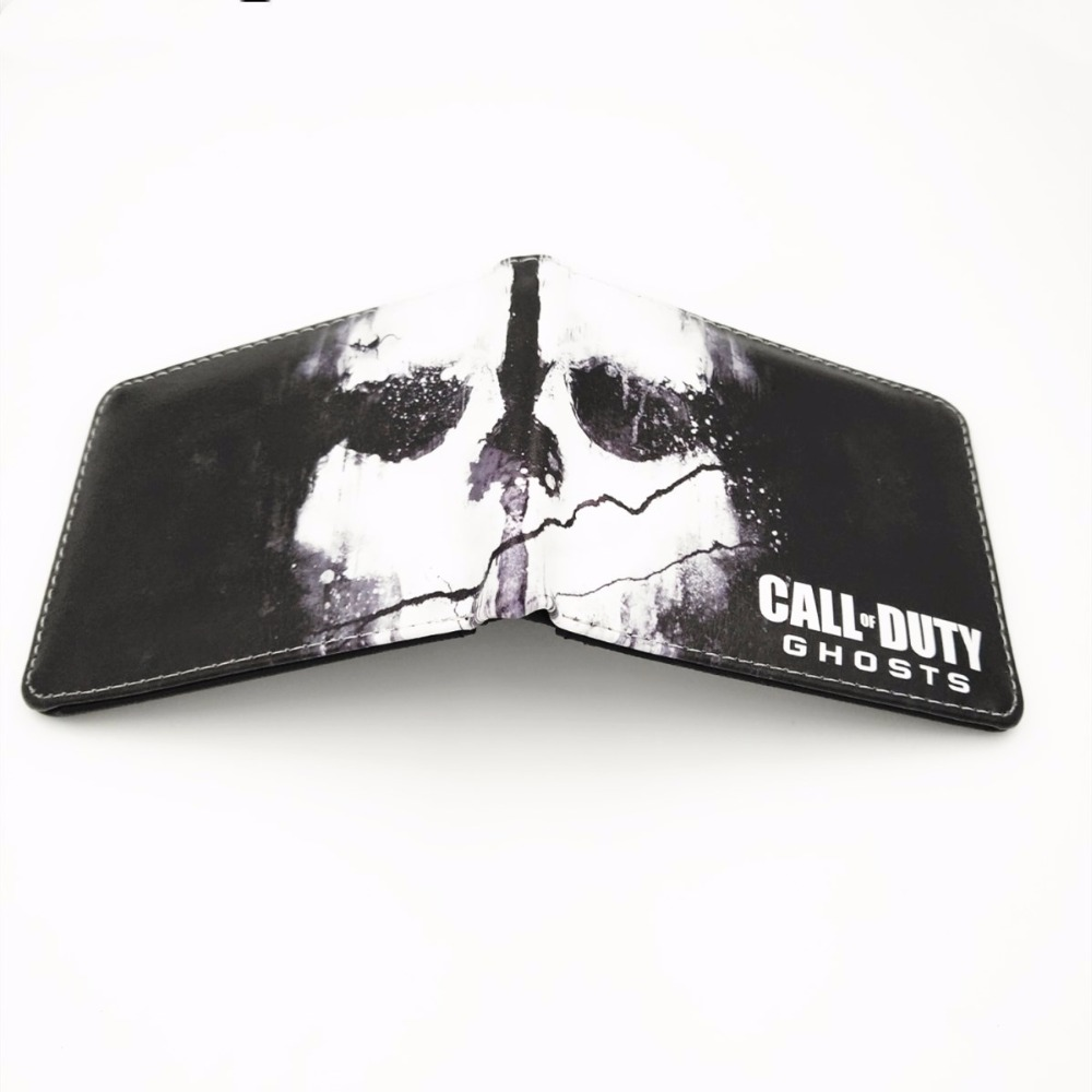 Call of Duty Ghosts Wallet Credit Card Holder Purse W427 the ghosts of medak pocket