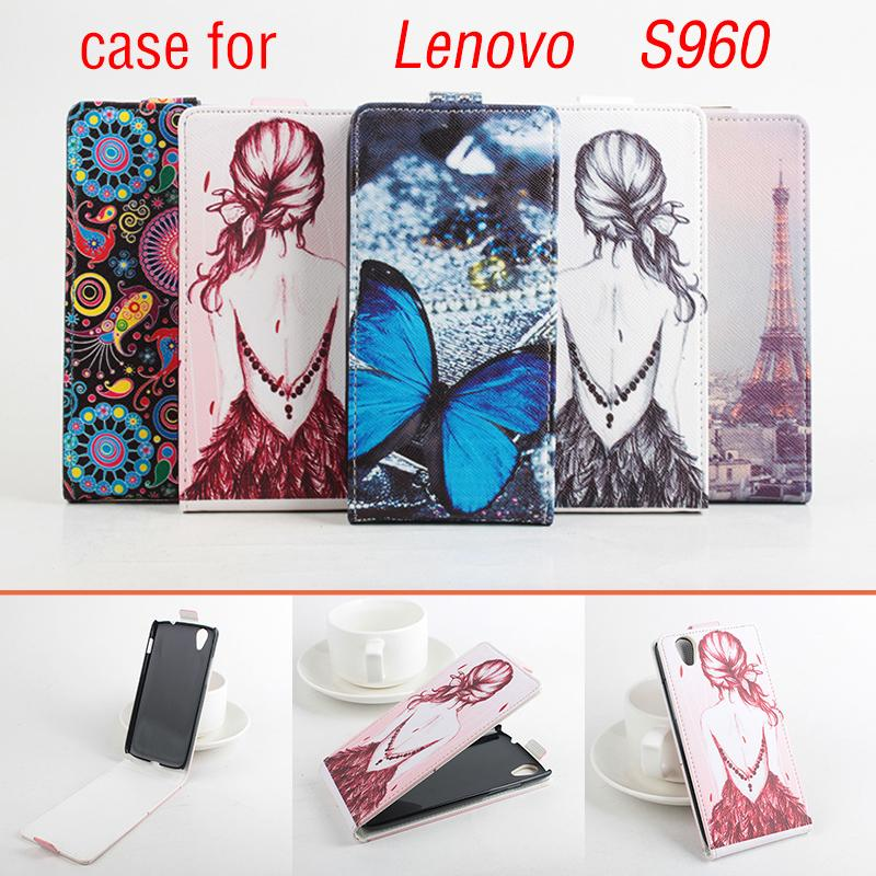 Flip Phone Bag Cases For Lenovo S960 Leather Stand Wallet Mobile Access