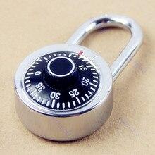 De Acero endurecido Grillete Disco de Combinación para el Equipaje Maleta Locker Lock Candado
