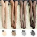 Free shipping Thin core-spun yarn color silk stockings wholesale in spring and summer