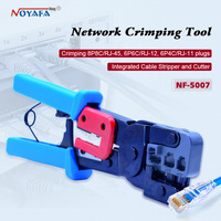 NOYAFA NF 5007 lan network tool kit Cat6 Cat5 RJ45 Crimper Crimping tool set network cable crimping pliers