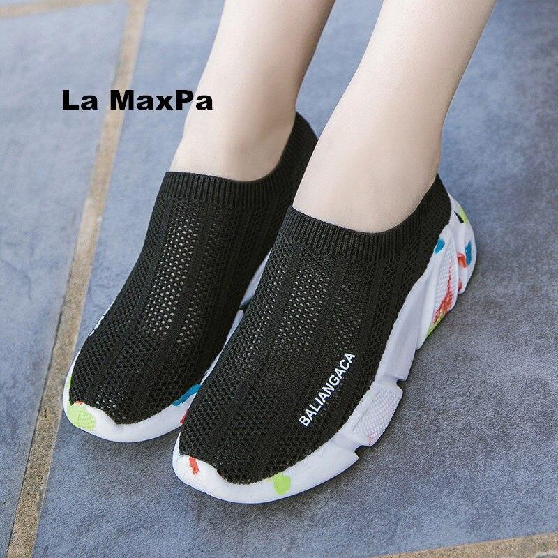 Generous Men Running Shoes Breathable Flyknit Sport Shoes Light High Top Socks Sneakers Man Walking Trainers Zapatillas Hombre Deportiva Underwear & Sleepwears