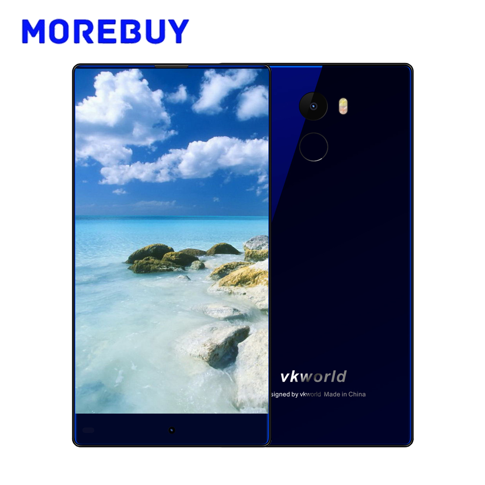 VKworld Mix Plus Smartphone 5.5 Inch On-Cell Full Screen Quad Core 3G RAM 32G ROM Android 7.0 Fingerprint 4G Mobile Phone 13.0MP
