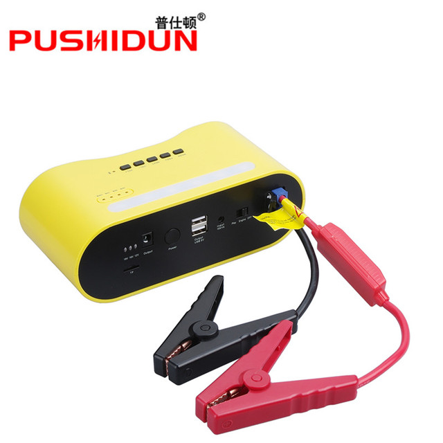 BR-RR07 emergency booster multi-function musical car jump starter power bank with bluetooth speaker starting device for 12V cars
