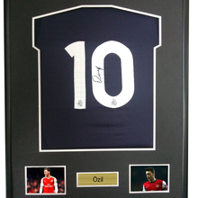 fc3fa3738 Mesut Ozil signed autographed soccer shirt jersey come with Sa coa framed  Arsenal(China)
