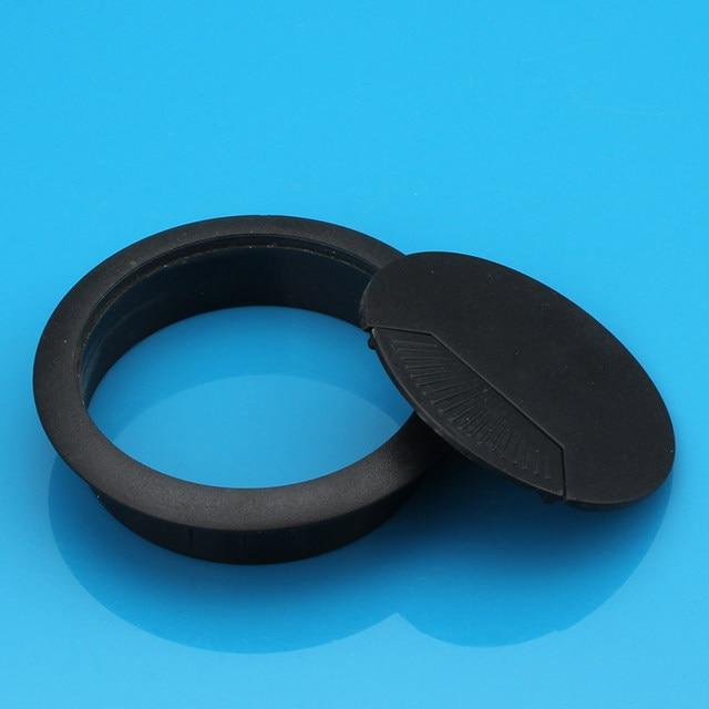 Online Shop Plastic wire hole cover your desktop threading box ...