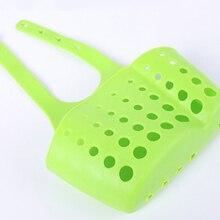 Adjustable Snap-On Sink Storage Basket Shelf Faucet Sponge Holder Drain Kitchen Bathroom Accessory