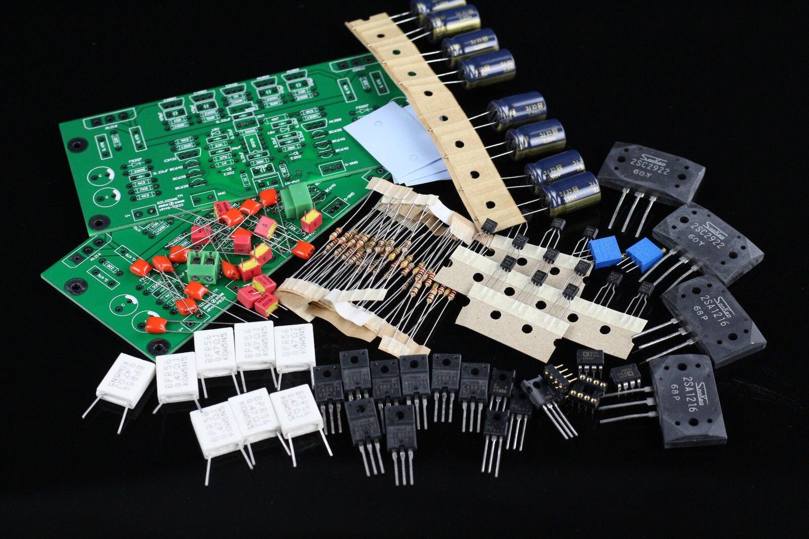 ZEROZONE Une Paire HM4S HIFI Amplificateur de Puissance Kit Base Burmester 933 Avec 2SA1216 2SC2922