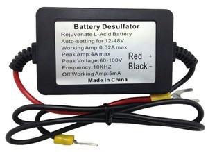 Image 3 - Déulfateur automatique Intelligent de batterie dimpulsion de 400AH CLEN, bornes dagrafe, pour relancer et régénérer les Batteries,