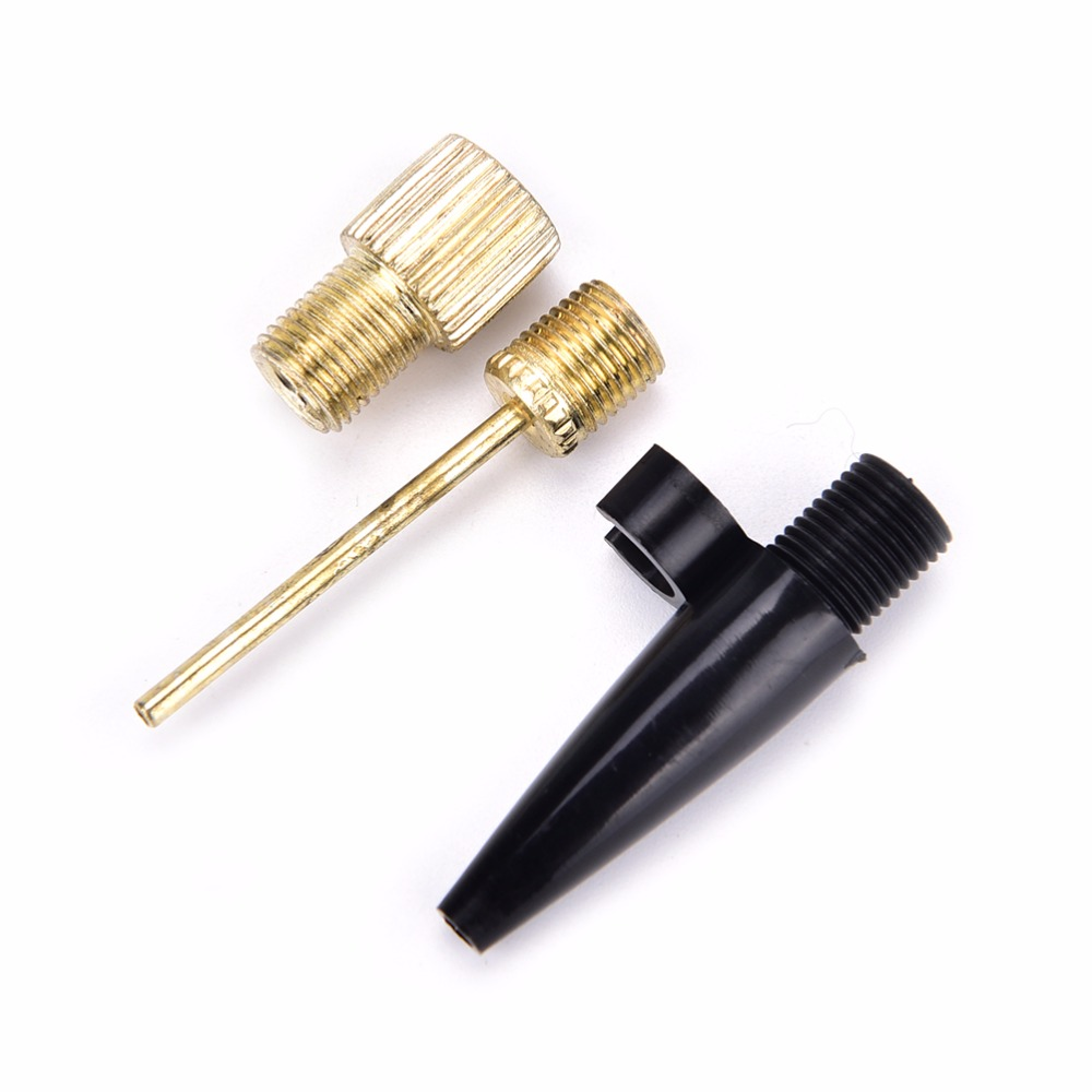 New 3 Pcs Bicycle Inflating Needle Pin Nozzle font b Footballs b font Basketball Soccers Ball