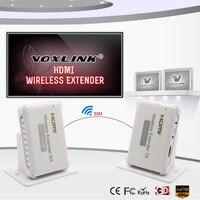 VOXLINK HDMI Беспроводной передачи Extender 30 м/98ft HD 1080 P HDMI передатчик и приемник Поддержка HDMI 1,4 HDCP 1,4 3D