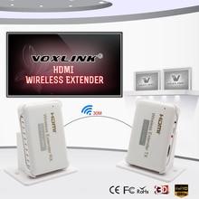 VOXLINK HDMI funkübertragung Extender 30 mt/98ft HD 1080 P HDMI Sender & Empfänger Unterstützung HDMI 1,4 HDCP 1,4 3D