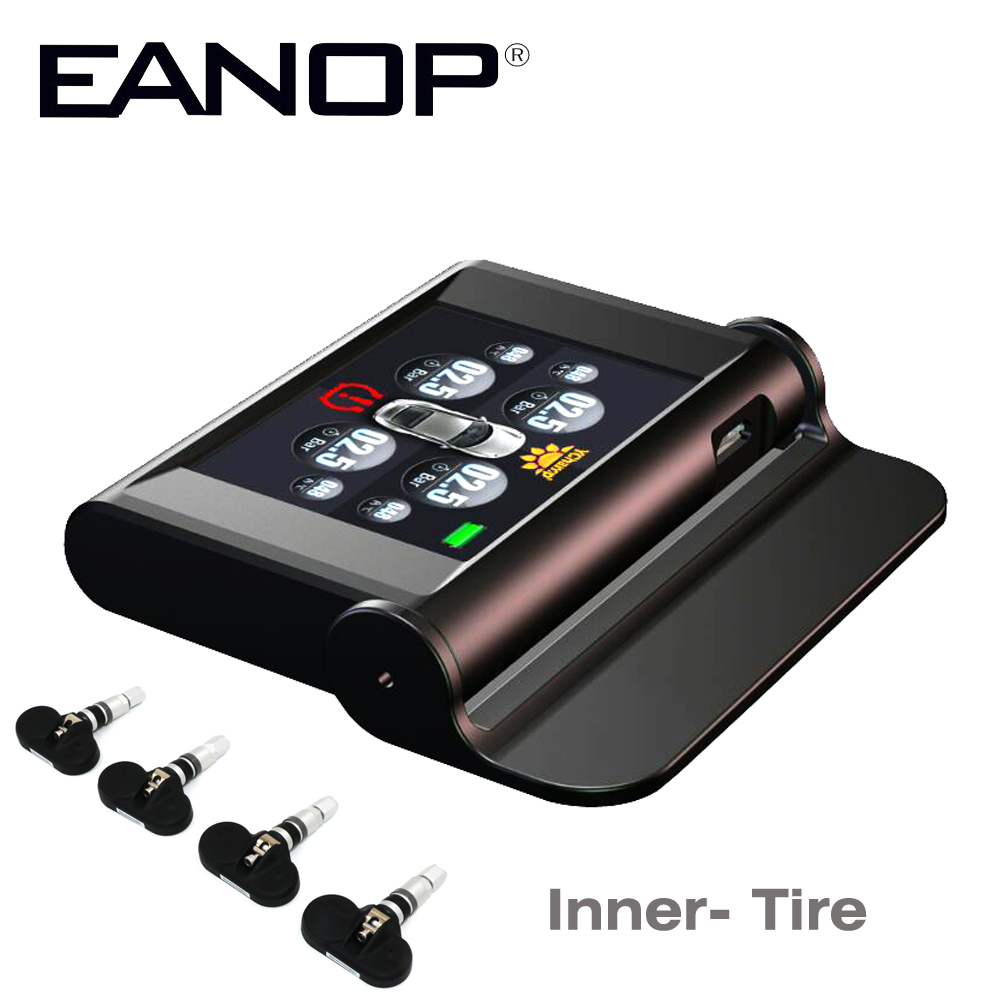 EANOP Tpms Solar Car Tire Pressure Tyre Pressure Sensor Guage Diagnostic Tool Alarma Automovil For starline 2018 newest solar tpms newest technology car tire diagnostic tool with mini external sensor superior quality wireless tpms