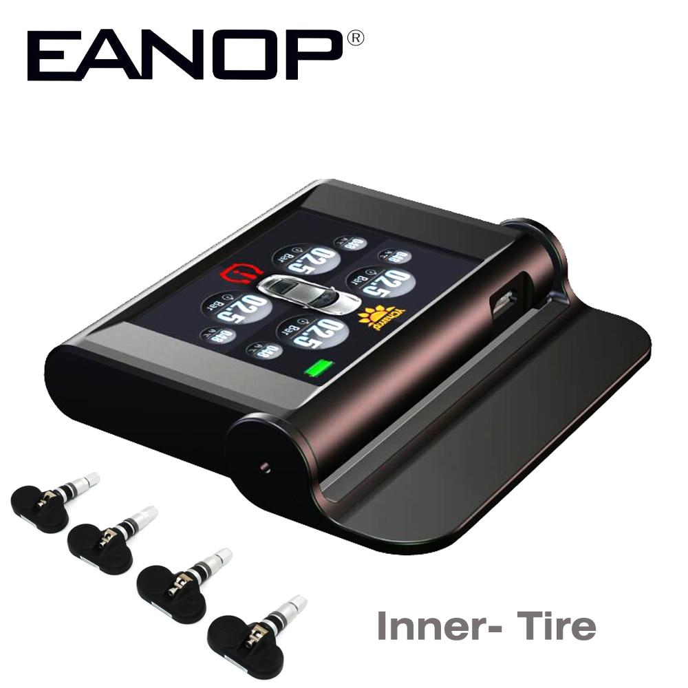 EANOP font b Tpms b font Solar Car Tire Pressure Tyre Pressure Sensor Guage Diagnostic Tool