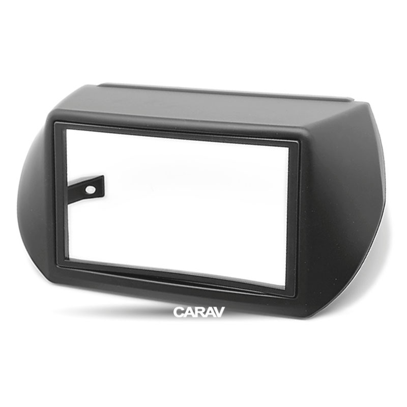 For Fiat Fiorino Qubo 225 225l Car Radio Bezel Mounting Frame Double Din 2-din