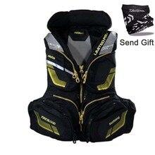 2018 New Sea Fishing Life Jackets Fishing Buoyancy Vest Breathable Vest Bucket Buoyancy Vest top Outdoor Sports Designed