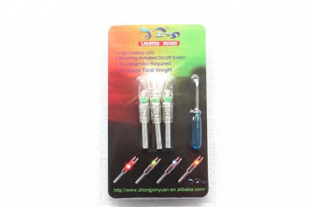 3pcs Green Lighted Nocks Nockturnal Lumenok Similar To Nockturnal