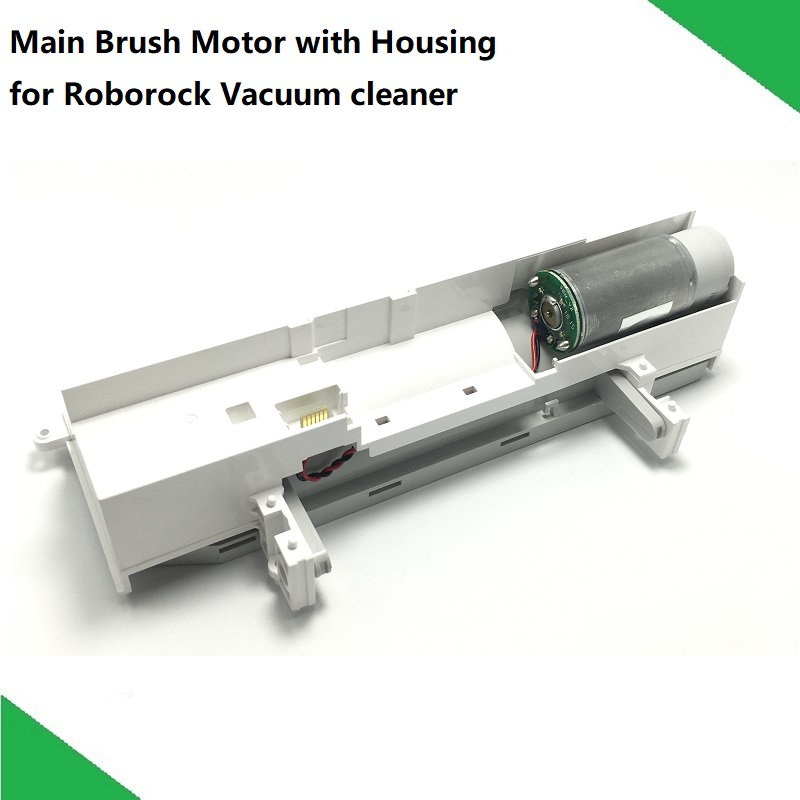 Original Robot Vacuum Cleaner Spare Parts Main Brush Motor With Housing Assembly For XIAOMI Roborock S50 S51