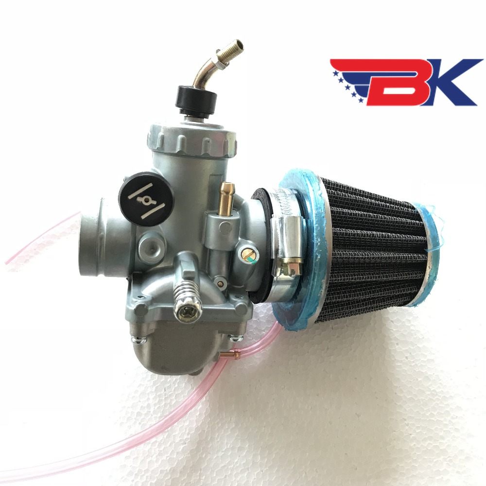 VM24 28mm W/ Air Filter Carburetor For Motorcycle Dirt Bike Yamaha DT125 DT 125 Suzuki TZR125 RM65 RM80 RM85 DT175 RX100 RX125